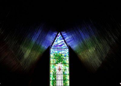 Paróquia Nossa Senhora de Fátima, em Londrina/PR - Projeto realizado pela Kingdom vitrais