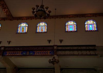 Vitral produzido pela Kingdom vitrais