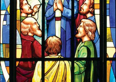 Vitral Pentecostes - Projeto realizado pela Kingdom vitrais