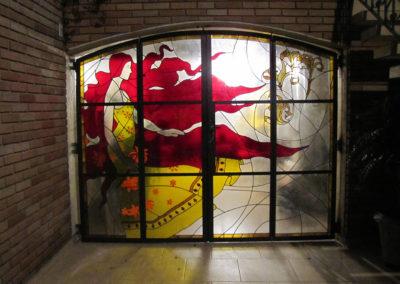 Vitral residencial - Projeto realizado pela Kingdom vitrais
